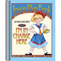 TCR3204 - Lesson Plan Book Im In Charge Here Mary Engelbreit in Plan & Record Books