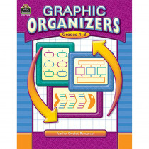 TCR3208 - Graphic Organizers Gr 4-8 in Graphic Organizers