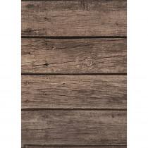 Better Than Paper Bulletin Board Roll, 4' x 12', Dark Wood, 4 Rolls - TCR32205 | Teacher Created Resources | Bulletin Board & Kraft Rolls