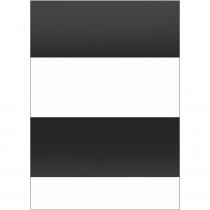 Better Than Paper Bulletin Board Roll, 4' x 12', Black & White Stripes, 4 Rolls - TCR32211 | Teacher Created Resources | Bulletin Board & Kraft Rolls