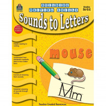 TCR3245 - Building Writing Skills Sounds To Letters Prk-K in Writing Skills