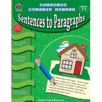 TCR3248 - Building Writing Skills Sentences To Paragraphs Gr 2-3 in Writing Skills