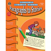 TCR3249 - Building Writing Skills Paragraphs To Stories Gr 3-4 in Writing Skills