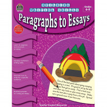TCR3251 - Building Writing Skills Paragraphs To Essays Gr 4-5 in Writing Skills