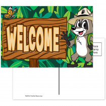 TCR3476 - Ranger Rick Welcome Postcards in Postcards & Pads