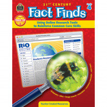 TCR3493 - 21St Century Fact Finds Gr 4 in Games & Activities