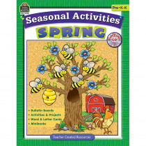 TCR3538 - Seasonal Activities Spring Gr Prek in Holiday/seasonal