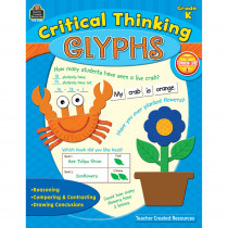 TCR3588 - Critical Thinking Glyphs Gr K in Books