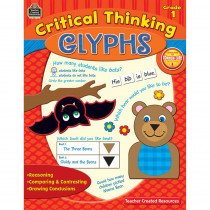 TCR3590 - Critical Thinking Glyphs Gr 1 in Books