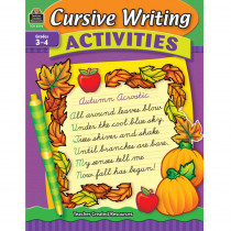 TCR3592 - Cursive Writing Activities in Handwriting Skills