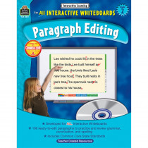 TCR3611 - Interactive Learning Gr 2 Paragraph Editing W/Cd in Editing Skills