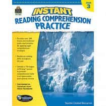 TCR3656 - Instant Reading Gr 3 Comprehension Pratice in Comprehension