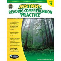 TCR3657 - Instant Reading Gr 4 Comprehension Pratice in Comprehension