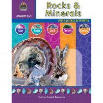 TCR3666 - Rocks & Minerals Gr 2-5 in Earth Science
