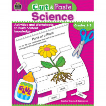 TCR3706 - Cut & Paste Science Gr 1-3 in Art & Craft Kits