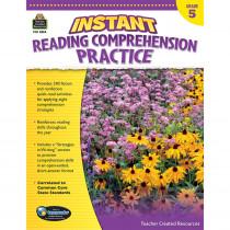 TCR3834 - Instant Reading Gr 5 Comprehension Pratice in Comprehension