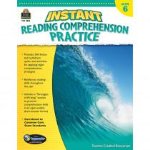 TCR3835 - Instant Reading Gr 6 Comprehension Pratice in Comprehension