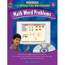 TCR3873 - Interactive Learning Gr 6 Math Word Problems in Math