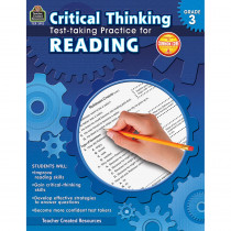 TCR3912 - Gr 3 Critical Thinking Test Taking Practice For Reading in Language Arts
