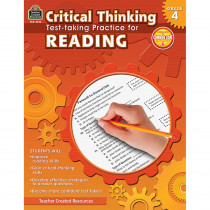 TCR3913 - Gr 4 Critical Thinking Test Taking Practice For Reading in Language Arts