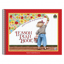 TCR3916 - Me Anything Is Possible Lesson Plan Book Long in Plan & Record Books
