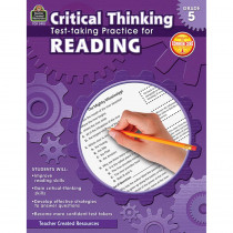 TCR3918 - Gr 5 Critical Thinking Test Taking Practice For Reading in Language Arts