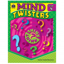 TCR3984 - Mind Twisters Gr 4 in Games