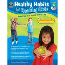 TCR3987 - Gr K Healthy Habits For Healthy Kids With Cd in Health & Nutrition