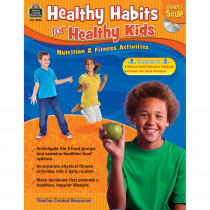 TCR3990 - Gr 5 & Up Healthy Habits For Healthy Kids With Cd in Health & Nutrition