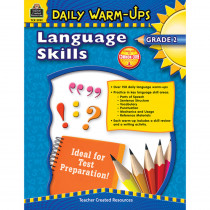 TCR3992 - Daily Warm Ups Language Skills Gr 2 in Activities