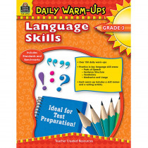 TCR3993 - Daily Warm Ups Language Skills Gr 3 in Activities