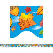 TCR4127 - Autumn Border Trim in Holiday/seasonal