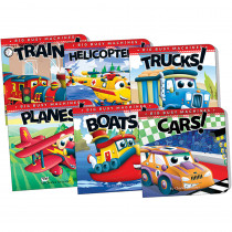 TCR418723 - Big Machines Board Book Set Of 6 in Classroom Favorites