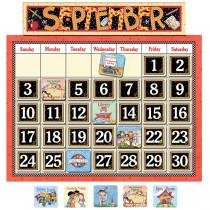 TCR4314 - Classroom Calendar Bulletin Board in Calendars