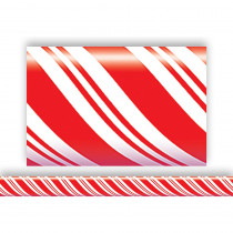 TCR4667 - Candy Cane Straight Border Trim in Border/trimmer