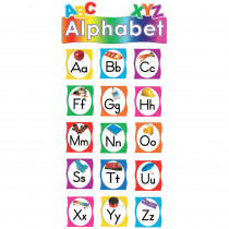 TCR4865 - Alphabet Mini Bulletin Board Set in Language Arts