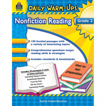 TCR5032 - Daily Warm Ups Gr 2 Nonfiction Reading in Reading Skills