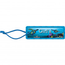 TCR5067 - Girls 2X6 Hall Pass in Hall Passes