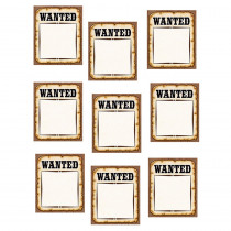 TCR5138 - Western Wanted Posters Accents in Accents