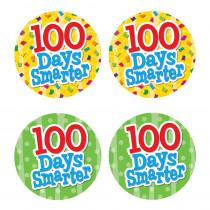 TCR5393 - 100 Days Smarter Wear Em Badges in Badges