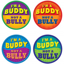 TCR5399 - Im A Buddy Not A Bully Wear Em Badges in Badges