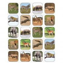 TCR5468 - Safari Animals Stickers in Stickers