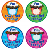 TCR5470 - I Am Years Old Today Wear Em Badges in Badges