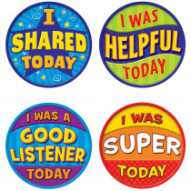 TCR5471 - Good Behavior Wear Em Badges in Badges