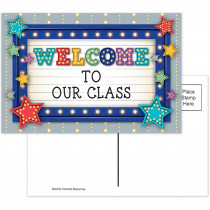 TCR5486 - Marquee Welcome Postcards in Postcards & Pads