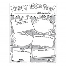 TCR5640 - Happy 100Th Day Poster Pack in Miscellaneous