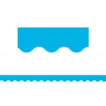 TCR5703 - Aqua Scalloped Border Trim in Border/trimmer