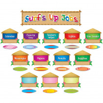 TCR5786 - Surfs Up Jobs Mini Bulletin Board Set in Miscellaneous