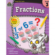 TCR5913 - Ready Set Learn  Fractions Gr 3 in Fractions & Decimals