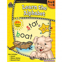TCR5915 - Ready Set Learn Learn The Alphabet Gr Pk-K in Letter Recognition